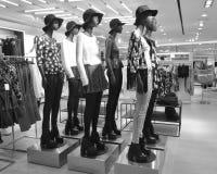 Estatuas de moda Imagen de archivo
