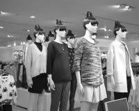 Estatuas de moda Fotografía de archivo