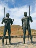 Estatuas de Morro Velosa Imagenes de archivo