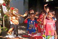 Estatuas de Ogoh-Ogoh, Bali, Indonesia Imagenes de archivo