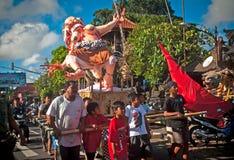Estatuas de Ogoh-Ogoh, Bali, Indonesia Fotos de archivo