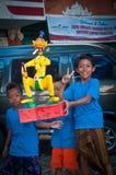 Estatuas de Ogoh-Ogoh, Bali, Indonesia Foto de archivo