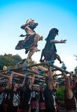 Estatuas de Ogoh-Ogoh, Bali, Indonesia Foto de archivo libre de regalías