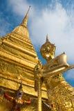 Estatuas de oro Foto de archivo libre de regalías