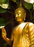 Estatuas de oro fotos de archivo