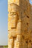 Estatuas de Persepolis Lamassu foto de archivo