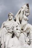 Estatuas de piedra Fotos de archivo libres de regalías