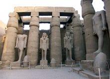 Estatuas de Ramses el grande Fotos de archivo