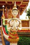 Estatuas del ángel tailandés Imagen de archivo libre de regalías