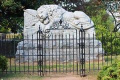 Estatuas del cementerio Fotografía de archivo