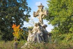 Estatuas del cementerio Fotos de archivo
