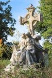 Estatuas del cementerio Imagenes de archivo