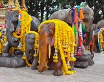 Estatuas del elefante Foto de archivo