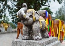 Estatuas del elefante Imagen de archivo