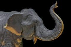 Estatuas del elefante Fotografía de archivo