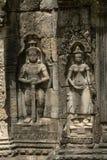 Estatuas del hombre con la espada y la esposa imagen de archivo libre de regalías