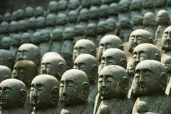 Estatuas del monje fotos de archivo