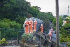 Estatuas del monje, Sri Lanka imagen de archivo libre de regalías