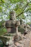 Estatuas del sur del puente de la puerta fotografía de archivo libre de regalías