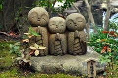 Estatuas del templo de Hase-dera foto de archivo libre de regalías