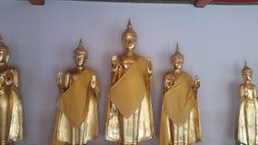 Estatuas derechas Imagen de archivo