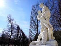 Estatuas en amor Fotos de archivo libres de regalías