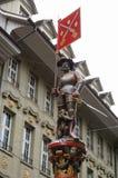 Estatuas en Bern Old Town Foto de archivo libre de regalías