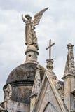 Estatuas en el cementerio de Recolta del La foto de archivo libre de regalías