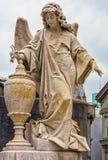Estatuas en el cementerio de Recolta del La imagen de archivo libre de regalías