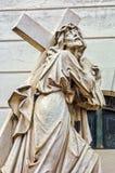 Estatuas en el cementerio de Recolta del La imágenes de archivo libres de regalías
