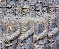 Estatuas en el cementerio de Recolta del La imagenes de archivo