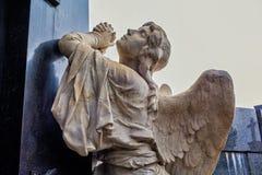 Estatuas en el cementerio de Recolta del La fotos de archivo
