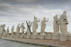 Estatuas en el cuadrado de St Peters imagen de archivo libre de regalías