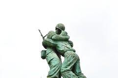 Estatuas en el museo del monumento de Guerra de Corea, Seul Foto de archivo libre de regalías