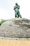 Estatuas en el museo del monumento de Guerra de Corea, Seul Imagen de archivo libre de regalías