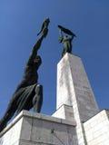 Estatuas en la colina de Gellert del santo Fotografía de archivo