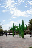 Estatuas en Perth imagenes de archivo