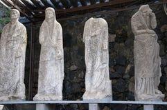 Estatuas en Pompeya imágenes de archivo libres de regalías