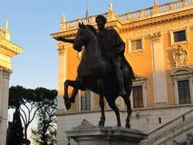 Estatuas en Roma foto de archivo