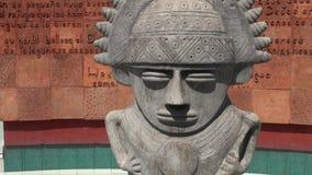 Estatuas, esculturas, artes, ilustraciones, monumentos, señales almacen de metraje de vídeo