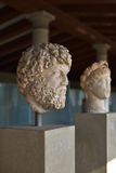 Estatuas griegas en el museo de la acrópolis en Atenas, Grecia Fotos de archivo