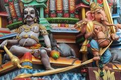 Estatuas hindúes Imagen de archivo libre de regalías