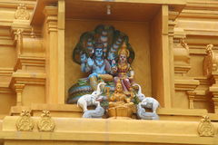 Estatuas hindúes Imágenes de archivo libres de regalías