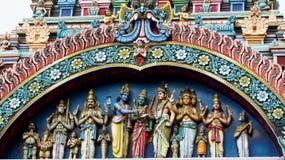 Estatuas hindúes de dioses imagen de archivo libre de regalías