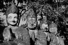 estatuas hindúes del ‰ del ¹ del à Foto de archivo libre de regalías