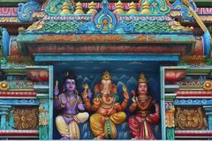 Estatuas hindúes en Sri Lanka foto de archivo