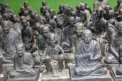 Estatuas santas fotografía de archivo