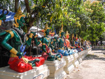 Estatuas tailandesas fotos de archivo libres de regalías