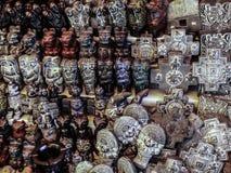 Estatuas talladas Imagenes de archivo