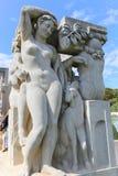 Estatuas viejas imagen de archivo